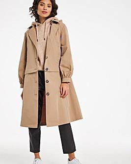 Multi Wear Adjustable Trench Coat