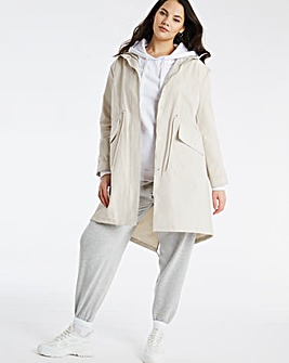 Stone Water Resistant Lightweight Parka