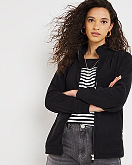 Black Fleece Jacket