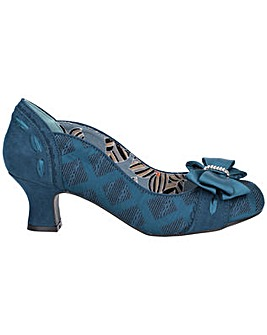 Ruby Shoo Rhea Heeled Court Shoe