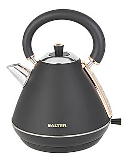 Salter Rose Gold Edition Pyramid Kettle