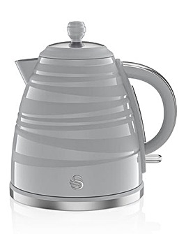 Swan 1.7Litre Twist Jug Grey Kettle