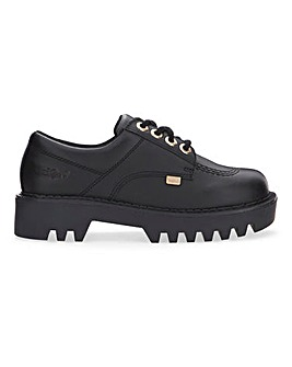 Kickers Lace Up Leather Shoes