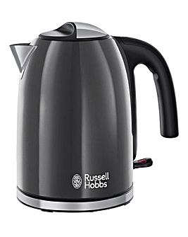 Russell Hobbs 20414 Colours Plus+ Grey Rapid Boil Kettle