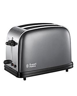 Russell Hobbs Grey 2 Slice Toaster