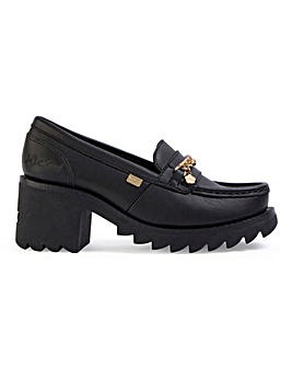 Kickers Klio Chain Loafers