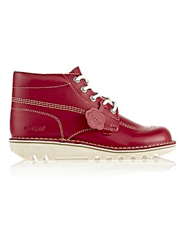 Kickers Lace Up Ankle Boots