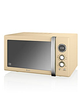 Swan 900W Retro Combi Microwave Grill