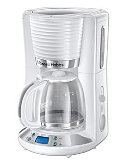 Russell Hobbs 24390 Inspire White Filter Coffee Maker