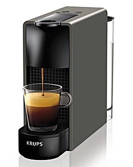 Nespresso XN110B40 Essenza Mini Grey Capsule Coffee Machine