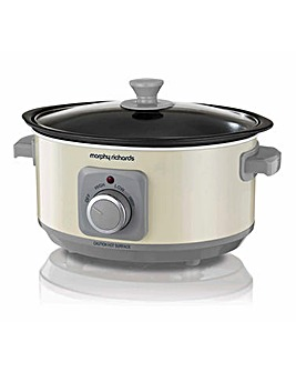 Morphy Richards 460013 Evoke 3.5L Cream Slow Cooker