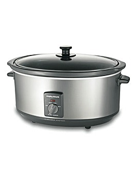 Morphy Richards Steel Slow Cooker