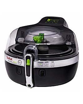 Tefal 2in1 Black ActiFry Air Fryer