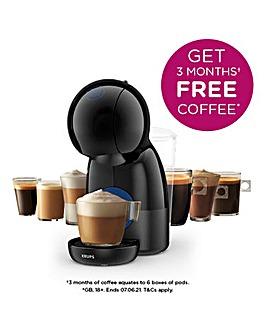 FREE GIFT! Nescafe KP1A0840 Dolce Gusto Piccolo XS Capsule Black Machine