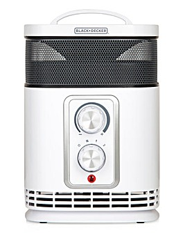 Black + Decker 1.5kW 360 Fan Heater