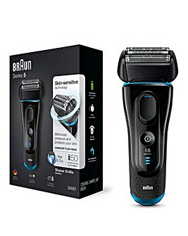 Braun Series 5140s Wet and Dry Rechargeable Shaver