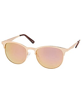 Accessorize Molly Half Frame Sunglasses
