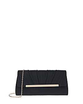 Accessorize Beatrix Woven Clutch Bag