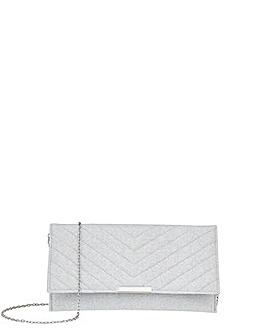 Accessorize Kelly Glitter Clutch Bag
