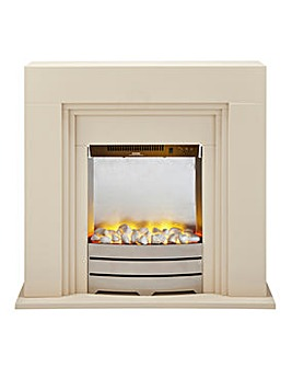 Beldray Ivory Electric Fire Suite