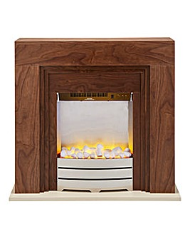 Beldray Wood Effect Electric Fire Suite