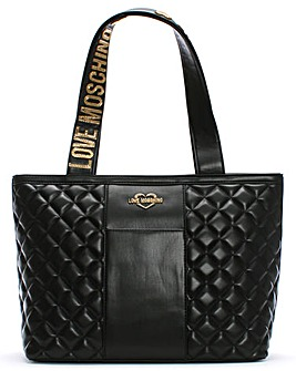 Love Moschino Quilted Shopper