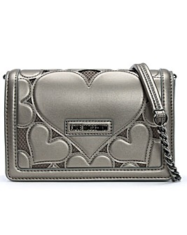 Love Moschino Love Heart Cross-Body Bag