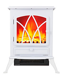 Warmlite 2kW White Electric Fire Stove