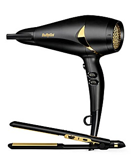 BaByliss Straightener & Hair Dryer Set
