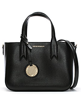 Emporio Armani Small Textured Tote Bag