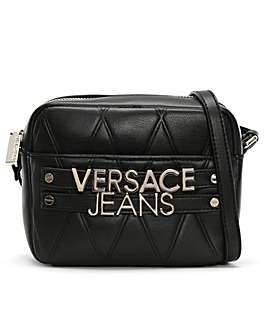 Versace Jeans Quilted Logo Cross-Body