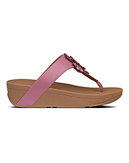Fitflop Lottie Corsage Toe Post Sandals Standard D Fit