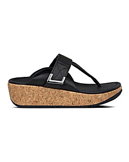 Fitflop Remi Toe Post Adjustable Strap Sandals Standard D Fit