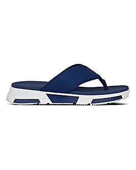 Fitflop Logo Sporty Toe Post Sandals Standard D Fit