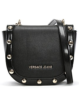 Versace Jeans Studded Cross-Body Bag