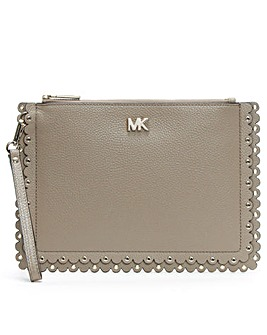 Michael Kors Scalloped Wristlet Pouch