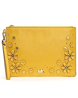 Michael Kors Sunflower Wristlet Pouch