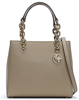 Michael Kors Cynthia North South Satchel