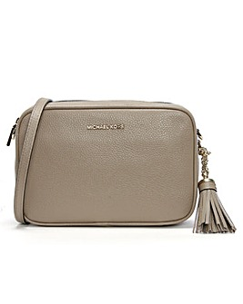 Michael Kors Pebbled Leather Camera Bag