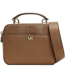 Michael Kors Guitar Leather Cross-Body