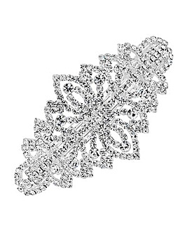Mood Crystal Ornate Hair Clip