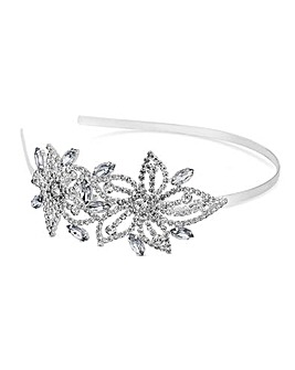 Mood Crystal Floral Headband