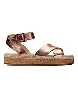 Clarks Flat Sandals