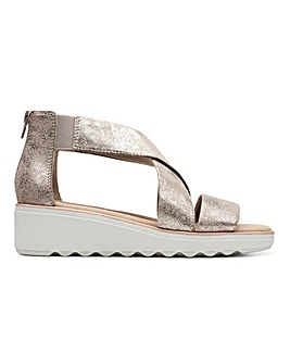 Clarks Jillian Rise Sandals Standard D Fit