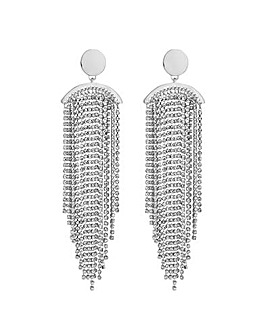 Mood Diamante Tassel Earring
