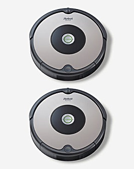 iRobot Roomba 604 Twin Pack Robotic Vacuum Cleaner