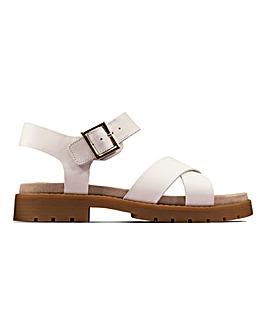 Clarks Orinoco Flat Sandals Standard D Fit