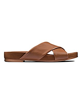 Clarks Pure Cross Flat Sandals Standard D Fit