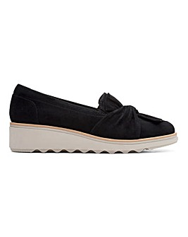 Clarks Slip On Shoes D Fit