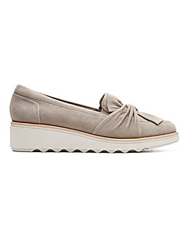 Clarks Slip On Shoes D Fit
